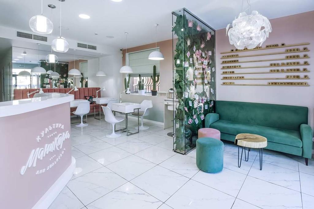 диван для салона красоты