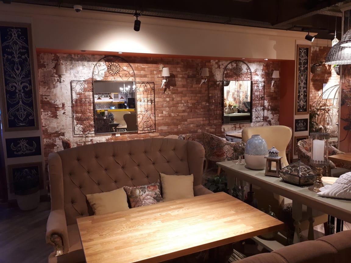 """Наша мебель в ресторане """"IL Патио"""" в ТЦ Вертикаль г. Балашиха"""