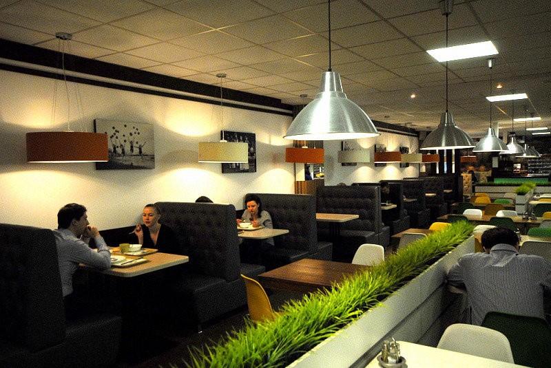диван для ресторана двойной