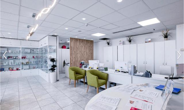 Наша мебель в первом профессиональном институте эстетики г. Москва, Проспект мира д.33 к1