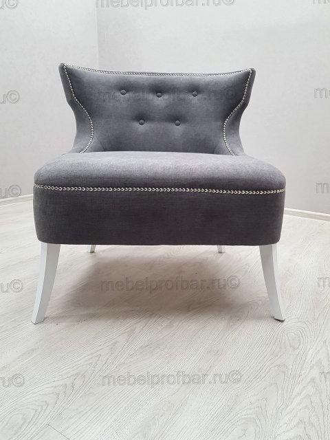 кресло для ресторана серое
