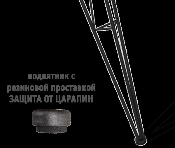 Подстолье металлическое SH-10 черный