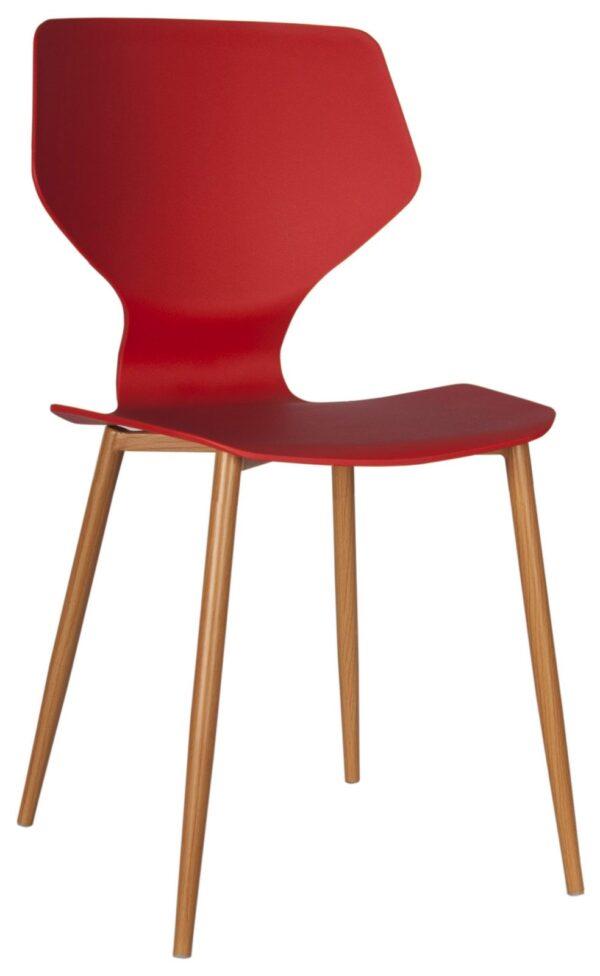 пластиковые стулья красные