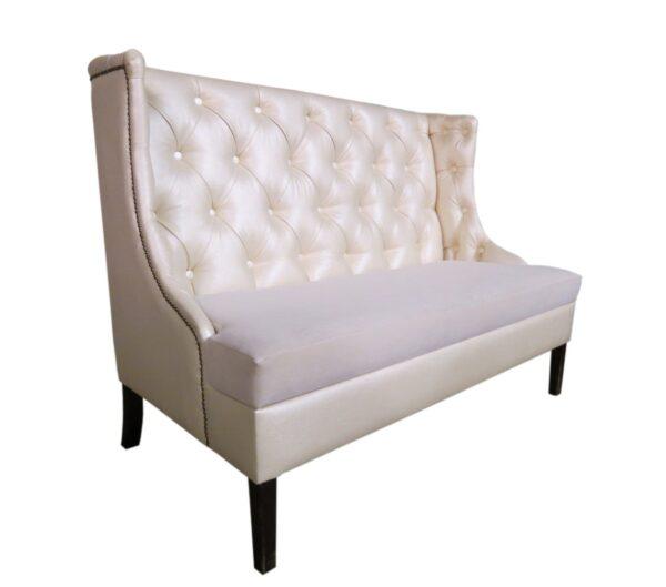 диван для кафе высокий