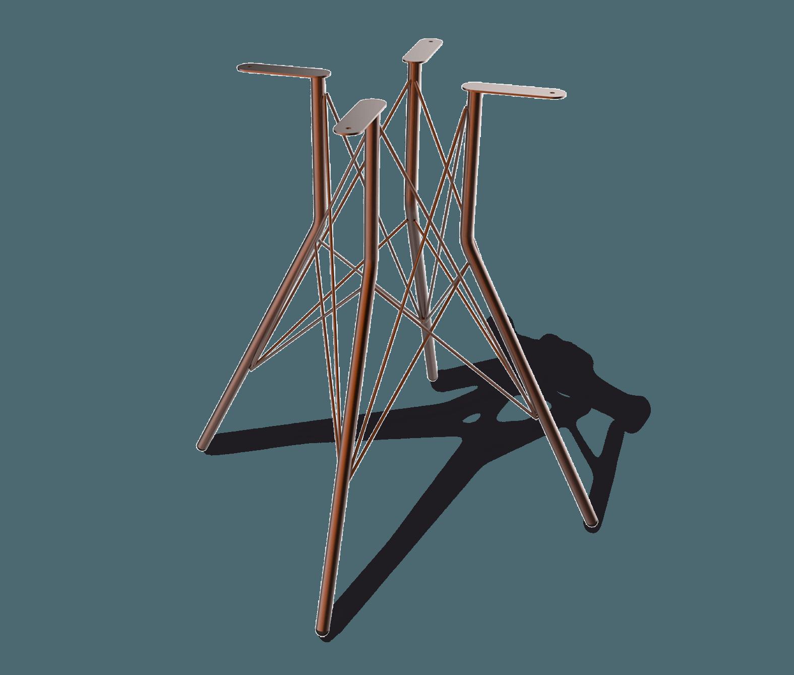 Подстолье дизайнерское металлическое SH-2-1