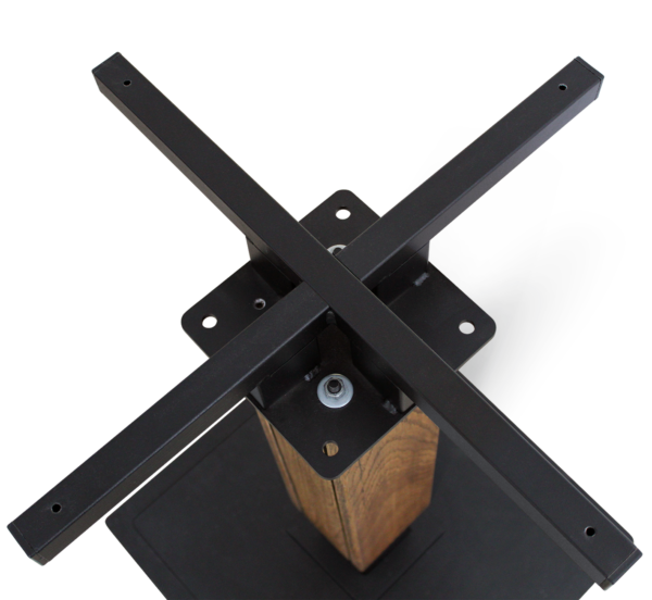 Подстолье лофт SH-22 металл + брашированный дуб