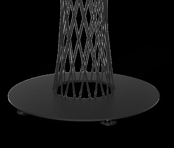 Подстолье лофт SH-3-1 черный