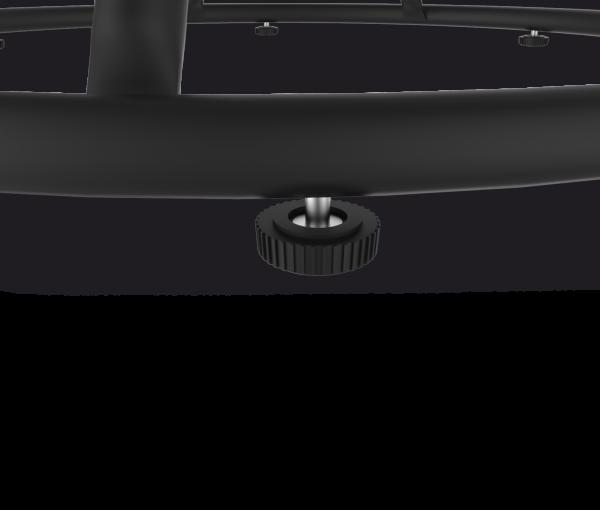 Подстолье SH-4-1 черный металл