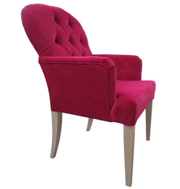 кресло для ресторана красное