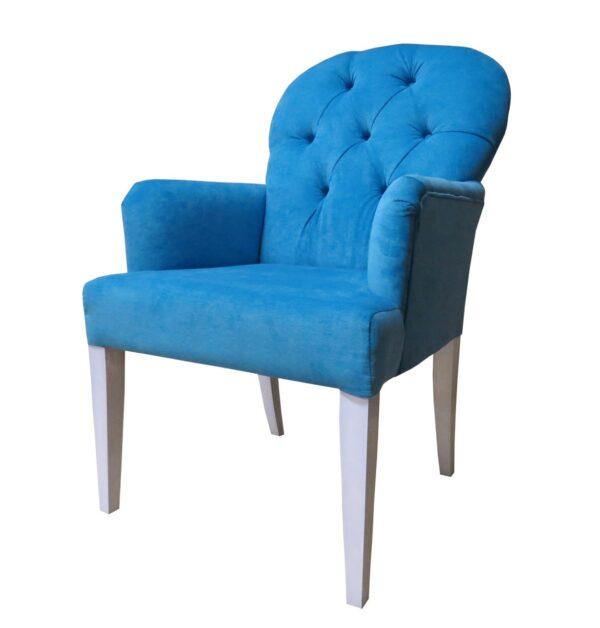 голубое кресло для кафе