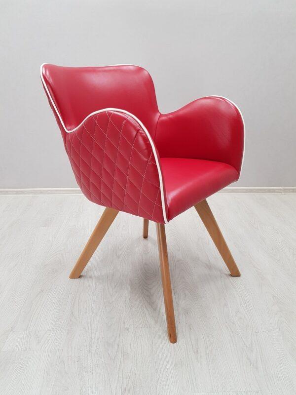 кресло красное
