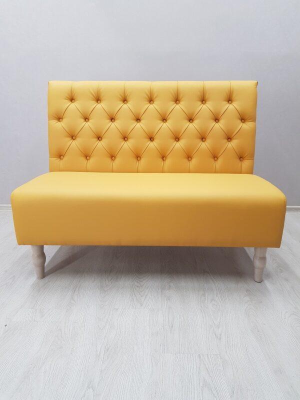 диван желтый