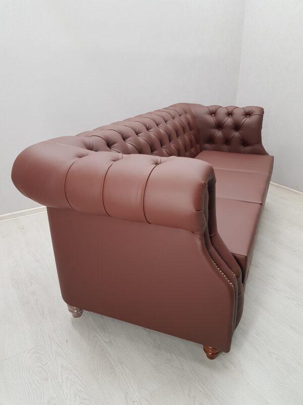 диван для ресторана честорфилд