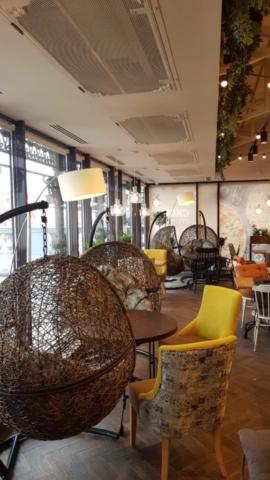 "Наша мебель в ресторане ""IL Патио"" г. москва, ул. Волхонка, д.13а"