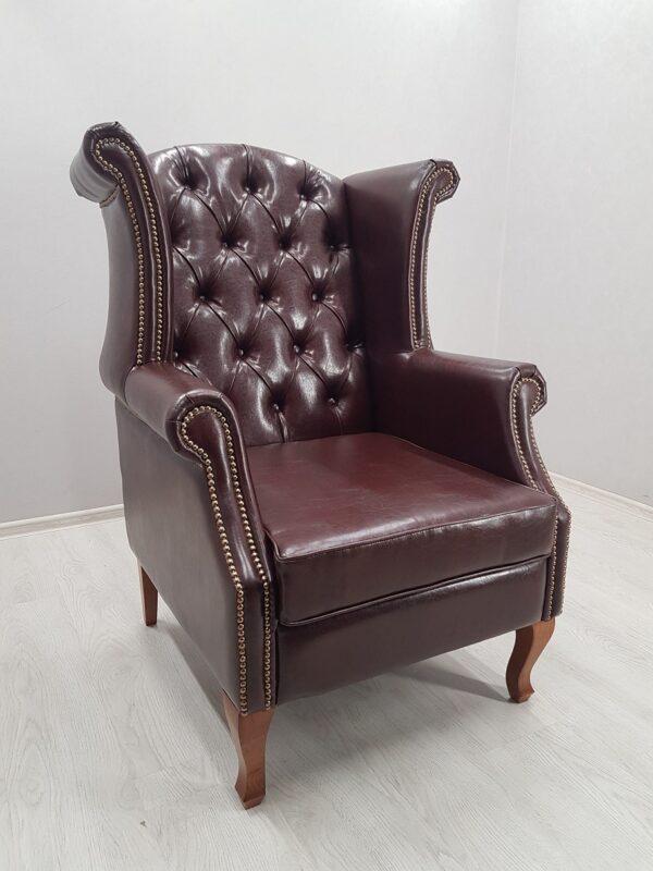 каминное кресло с ушами купить