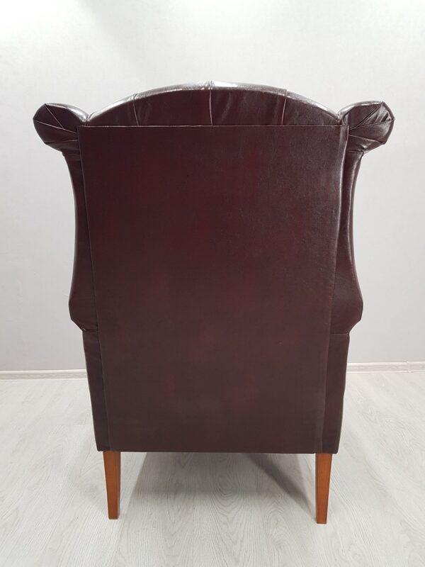 английское кресло с ушками