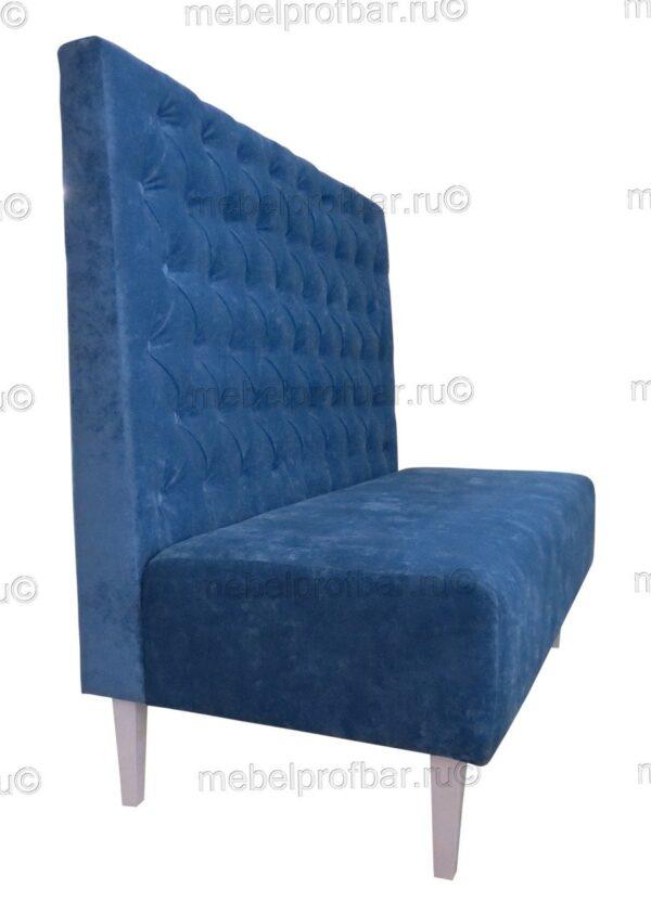 диван с каретной стяжкой