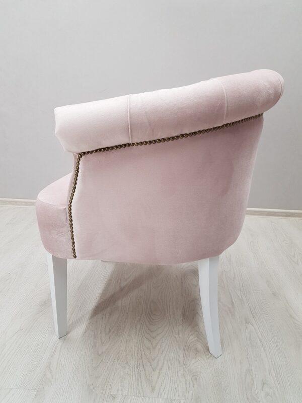 розовое кресло для салона красоты