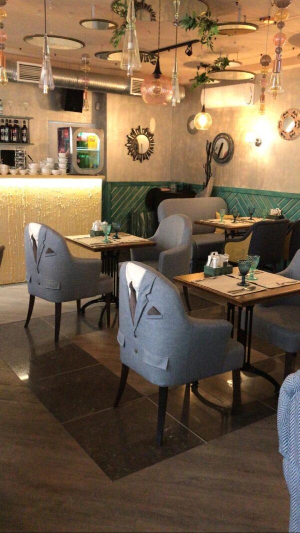 красивые кресла в ресторан