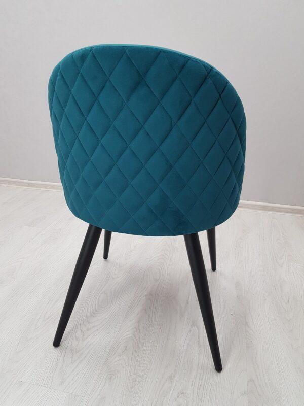 стул для кафе зеленый