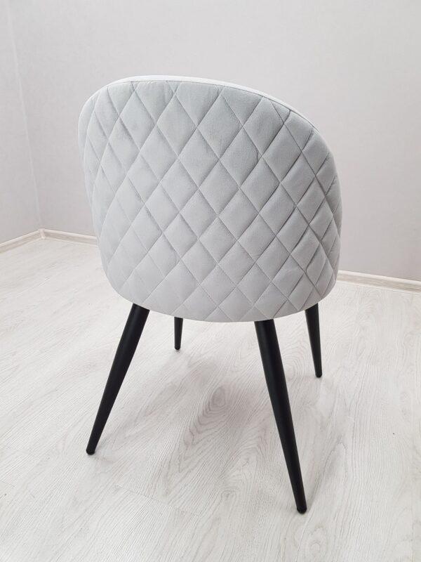 Мягкий стул  Бинго серый