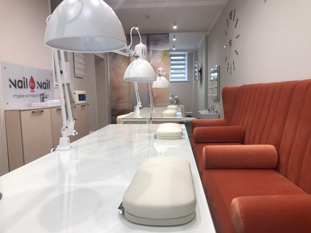 Наша красивая мебель в ногтевой студии Nail by Nail Москва ул. Садовая- самотёчная д. 11