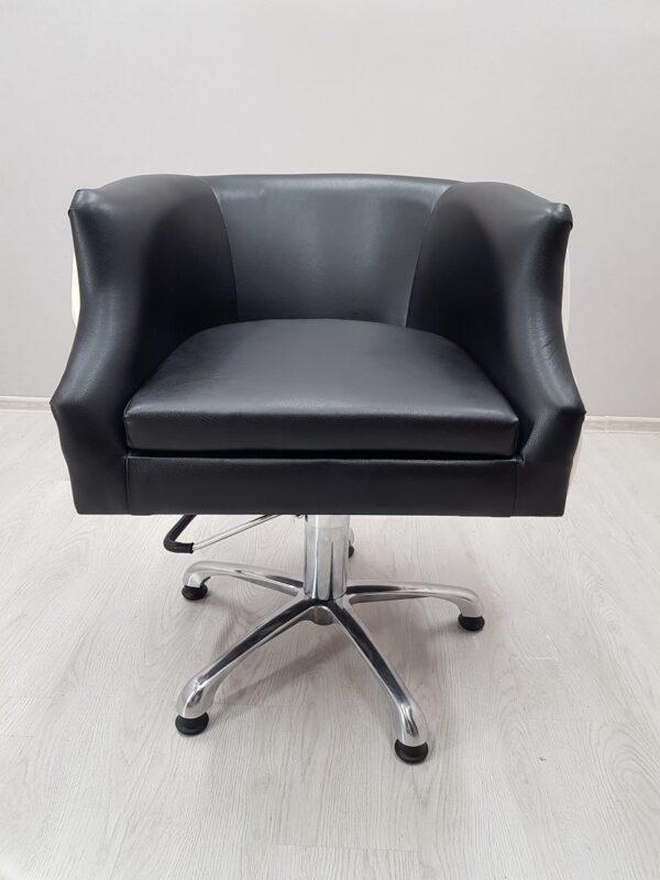 белое кресло парикмахерское