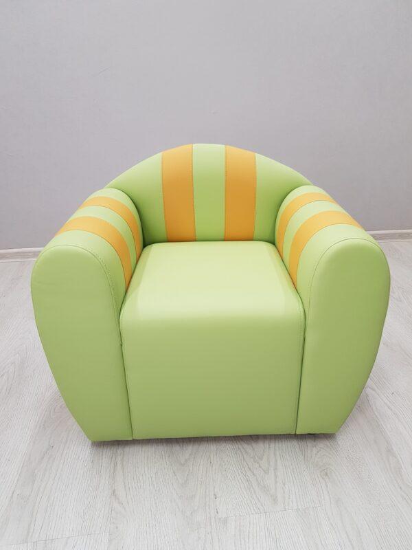 кресло детское зеленое