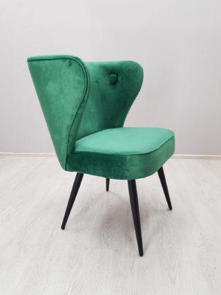 зеленное кресло для кафе