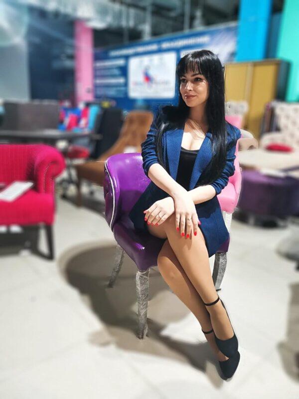кресло фиолетовое