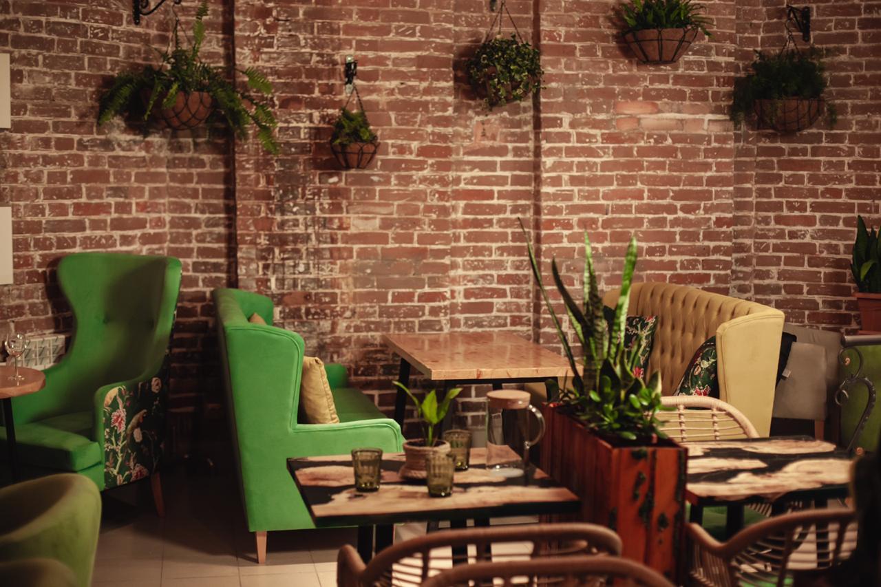 Наша мебель в Казахстане ресторан Botanika