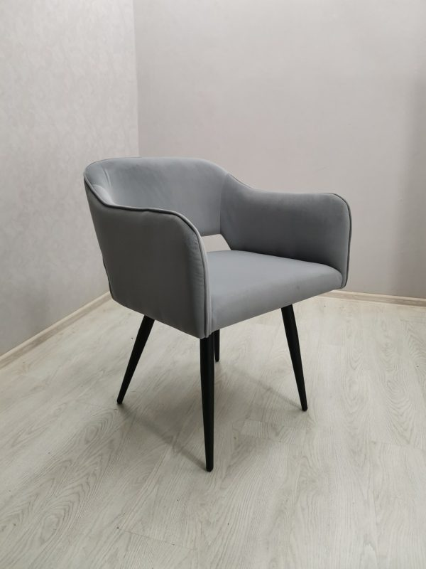Кресло Стоун серое